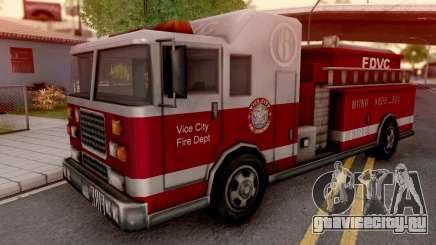 Firetruck from GTA VC для GTA San Andreas