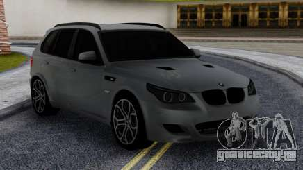 BMW X5M E70 with M5 E60 face для GTA San Andreas