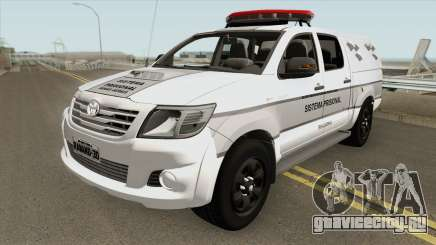 Toyota Hilux SRV 2014 (GETAP MG) для GTA San Andreas