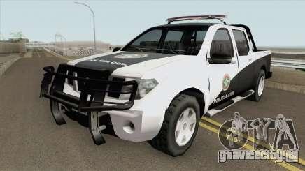 Nissan Frontier - Polícia Civil RJ для GTA San Andreas