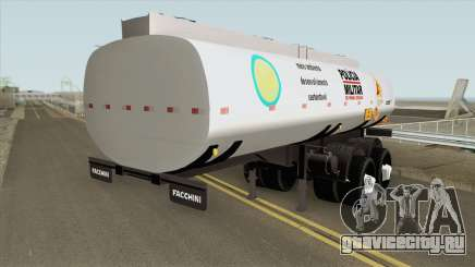 Tank Trailer V2 (Policia Militar) для GTA San Andreas