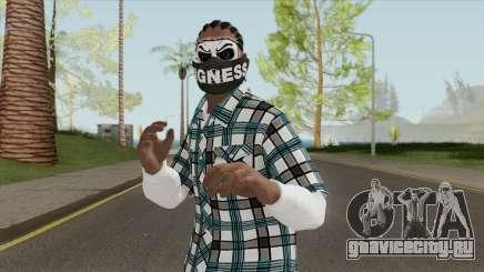 Black Guy Skin V2 для GTA San Andreas