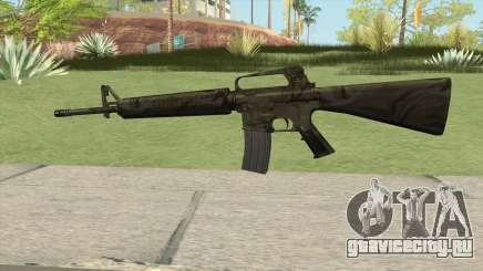 M16A2 Full Jungle Camo (Stock Mag) для GTA San Andreas