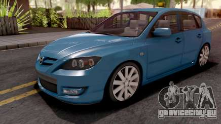 Mazda Speed 3 Blue для GTA San Andreas