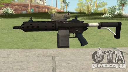 Carbine Rifle GTA V V1 (Flashlight, Tactical) для GTA San Andreas