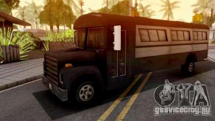 Bus GTA III Xbox для GTA San Andreas