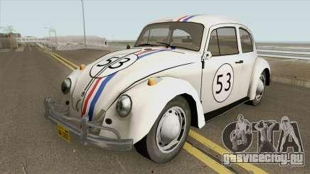 Volkswagen Beetle 1968 Herbie для GTA San Andreas