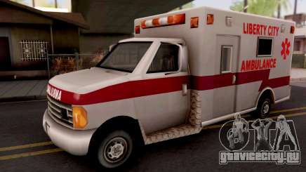 Ambulance GTA III Xbox для GTA San Andreas
