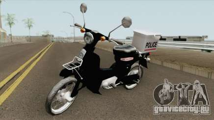Honda Super Cub Police Version B для GTA San Andreas