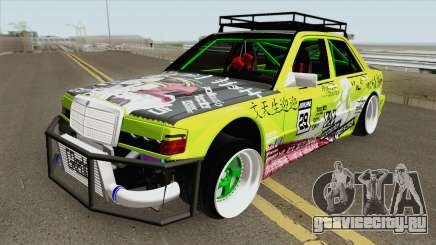 Mercedes-Benz 190E Evolution TurboStance для GTA San Andreas