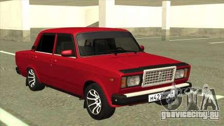 ВАЗ 2107 Седан Красный для GTA San Andreas