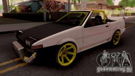 Toyota AE86 Cabrio Drift для GTA San Andreas