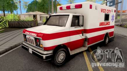 Ambulance GTA VC Xbox для GTA San Andreas