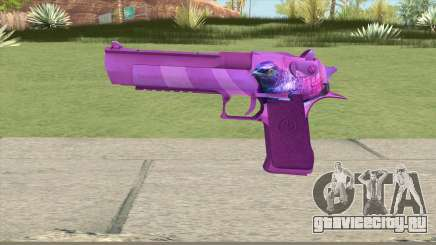 Desert Eagle (Purple) для GTA San Andreas