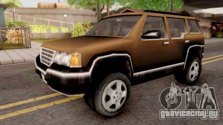 Landstalker from GTA 3 Brown для GTA San Andreas