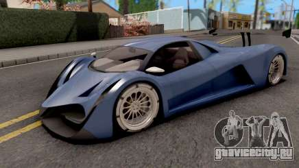 Devel Sixteen Blue для GTA San Andreas