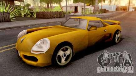 Yakuza Stinger GTA III Xbox для GTA San Andreas