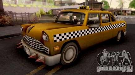 Borgine Cab GTA III для GTA San Andreas