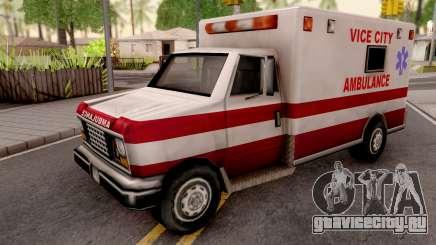 Ambulance from GTA VC для GTA San Andreas