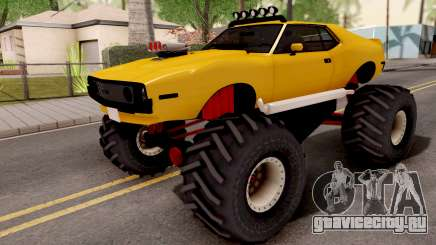 AMC Javelin Monster Truck 1971 для GTA San Andreas