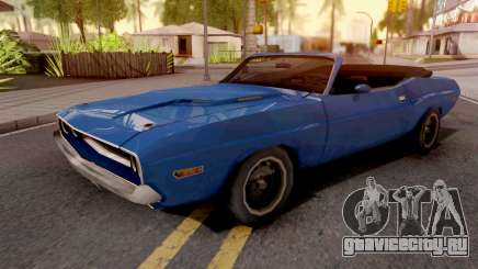 Dodge Challenger RT Conversivel для GTA San Andreas