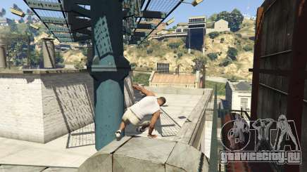 Real Parkour AguMods LUA для GTA 5