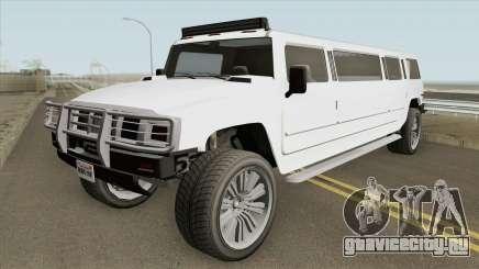 Mammoth Patriot Stretch GTA V IVF для GTA San Andreas