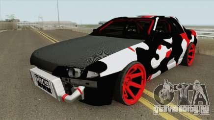 Nissan Skyline R32 Drift Camo для GTA San Andreas