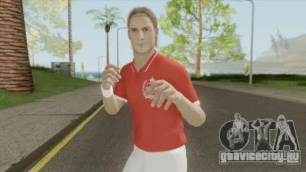 Totti (Legend) From Pro Evolution Soccer 2019 для GTA San Andreas