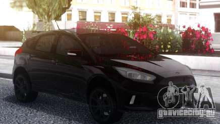 Ford Focus RS 2018 Black для GTA San Andreas