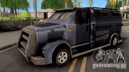 Securicar GTA III Xbox для GTA San Andreas