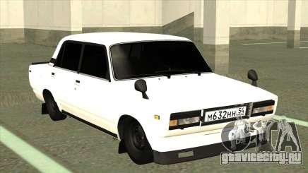 ВАЗ 2105 БК Белый для GTA San Andreas