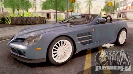 Mercedes-Benz SLR 722 Roadster для GTA San Andreas