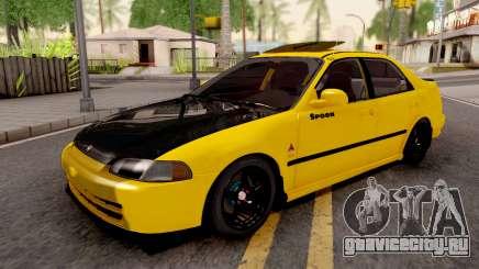 Honda Civic EG9 Ferio Malaysian Kanjo Style для GTA San Andreas