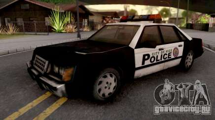 Police Car from GTA VC для GTA San Andreas