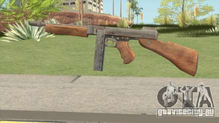 Thompson SMG (Tommy Gun) From PUBG для GTA San Andreas