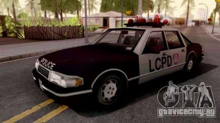 Police Car GTA III Xbox для GTA San Andreas