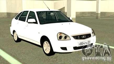 ВАЗ 2172 Сток Белый для GTA San Andreas