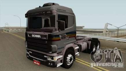 Scania 124G (Policia Militar) для GTA San Andreas