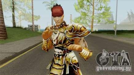 Warrior Yongsin From Metin 2 для GTA San Andreas