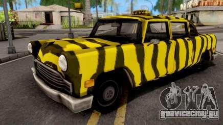 Zebra Cab GTA VC Xbox для GTA San Andreas