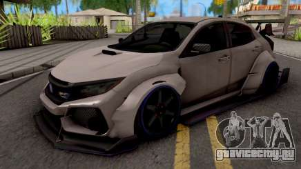 Honda Civic Type-R Grey для GTA San Andreas