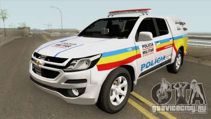 Chevrolet S10 (Policia Militar) 2019 для GTA San Andreas