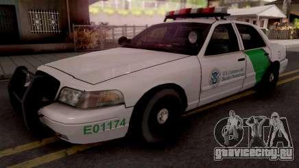 Ford Crown Victoria Border Patrol SA Style для GTA San Andreas