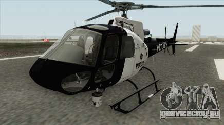 Police Maverick GTA V (SFPD Air Support Unit) для GTA San Andreas
