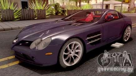 Mercedes-Benz SLR Violet для GTA San Andreas