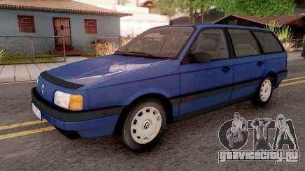 Volkswagen Passat B3 Variant Blue для GTA San Andreas