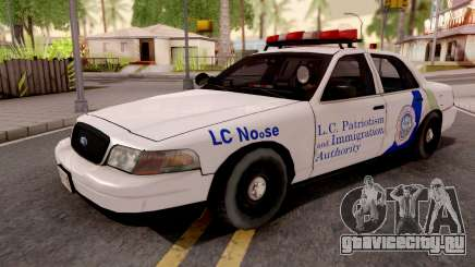 Ford Crown Victoria NOOSE Cruiser SA Style для GTA San Andreas