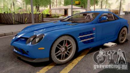 Mercedes-Benz SLR 722 Blue для GTA San Andreas
