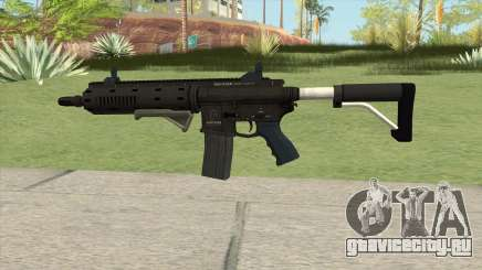 Carbine Rifle GTA V Default (Flashlight, Grip) для GTA San Andreas